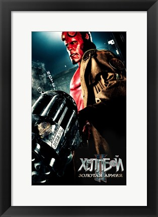 Framed Hellboy 2: The Golden Army Print