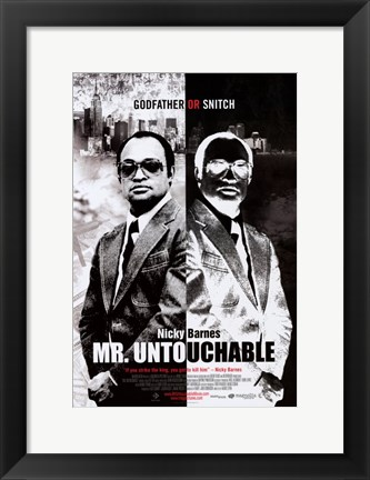 Framed Mr. Untouchable Print