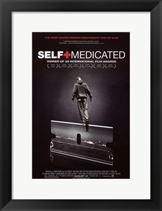 Framed Self Medicated Print