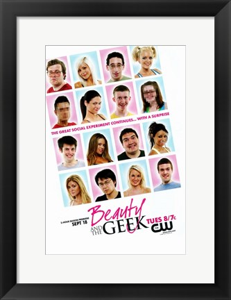 Framed Beauty and the Geek (TV) Print