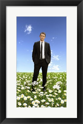 Framed Pushing Daisies Lee Pace as Ned Print