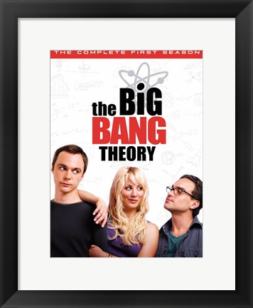 Framed Big Bang Theory Print