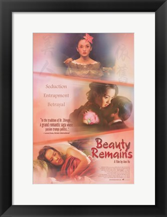 Framed Beauty Remains Print