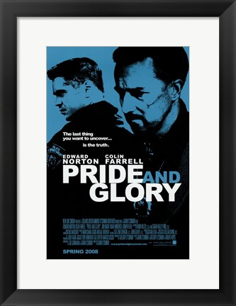 Framed Pride and Glory Print