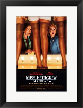 Framed Miss Pettigrew Lives For A Day Print