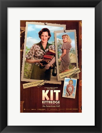 Framed Kit Kittredge: An American Girl Dance Librarian Print