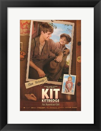 Framed Kit Kittredge: An American Girl The Hobos Print