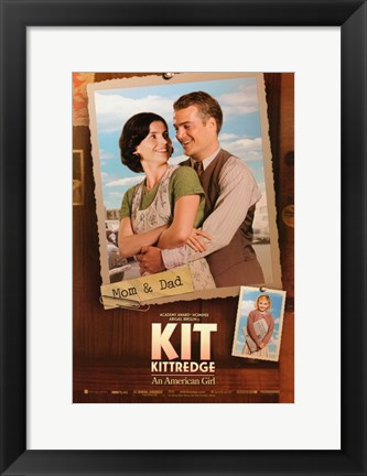 Framed Kit Kittredge: An American Girl Parents Print