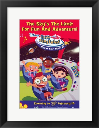 Framed Little Einsteins: Race For Space Print