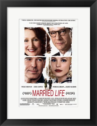 Framed Married Life Print