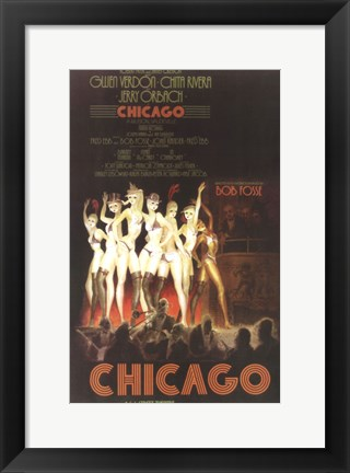 Framed Chicago (Broadway) Print