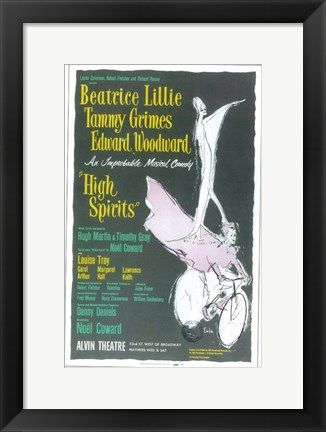 Framed High Spirits (Broadway) Print