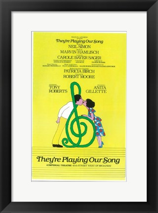 Framed They're Playing Our Song (Broadway) Print
