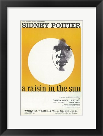Framed Raisin In The Sun (Broadway) Print