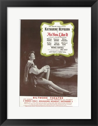 Framed As You Like It (Broadway) Print
