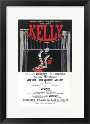Framed Kelly (Broadway) Print