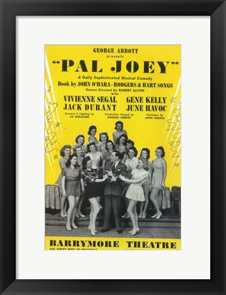 Framed Pal Joey (Broadway) Print