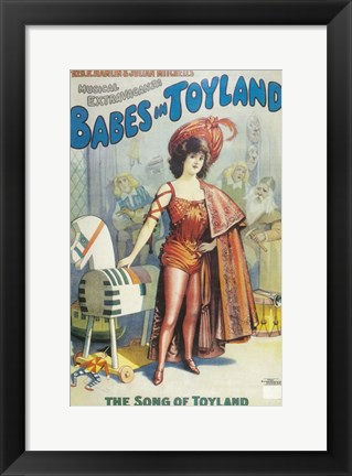 Framed Babes In Toyland (Broadway) Print