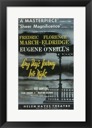 Framed Long Day's Journey Into Night (Broadway) Print