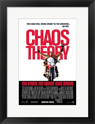 Framed Chaos Theory Print