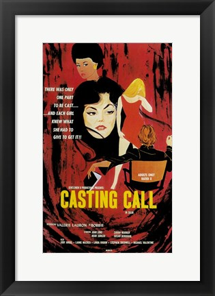 Framed Casting Call Print