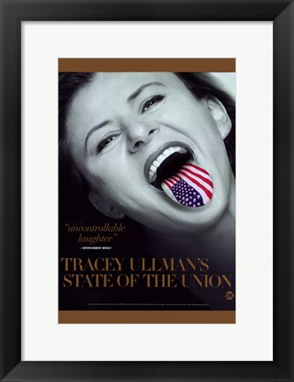 Framed Tracy Ullman's State of The Union Print