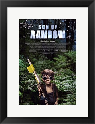 Framed Son of Rambow Print
