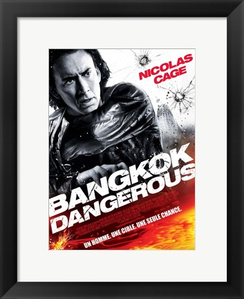 Framed Bangkok Dangerous French Print