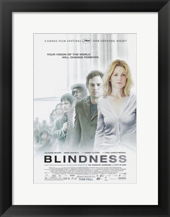 Framed Blindness Vision will Change Forever Print