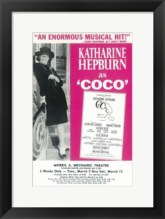 Framed Coco (Broadway) Print