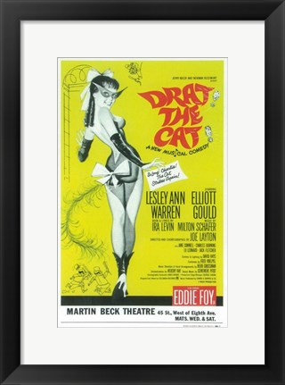 Framed Drat the Cat (Broadway) Print