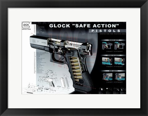 Framed Automatic Firearms Print