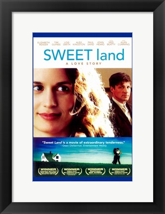 Framed Sweet Land Print