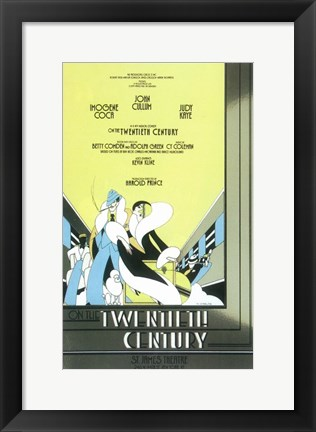 Framed On The Twentieth Century (Broadway) Print