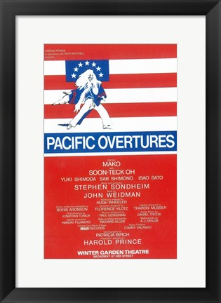 Framed Pacific Overtures (Broadway) Print