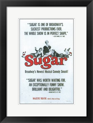 Framed Sugar (Broadway) Print