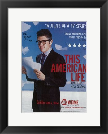 Framed This American Life (TV) Print