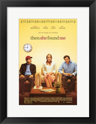 Framed Then She Found Me (movie poster) Print