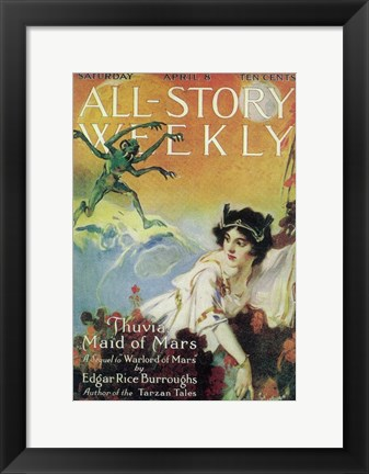 Framed All-Story Weekly (Pulp) Print