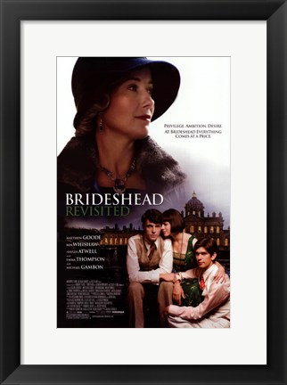 Framed Brideshead Revisited Print