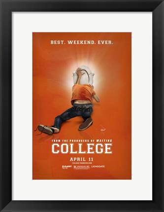 Framed College Print