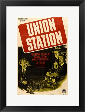 Framed Union Station Print