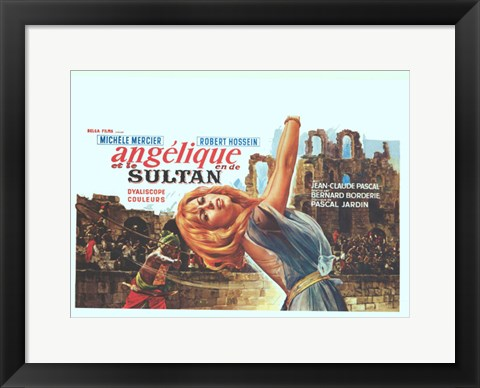 Framed Angelique And The Sultan Print