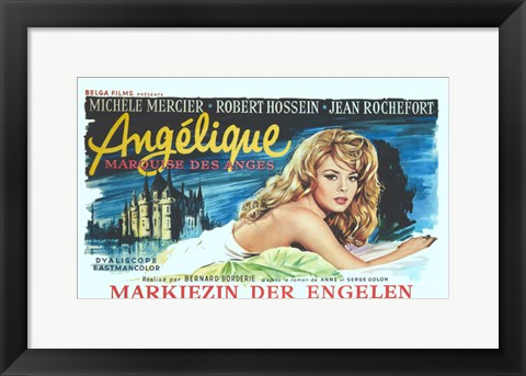 Framed Angelique Print