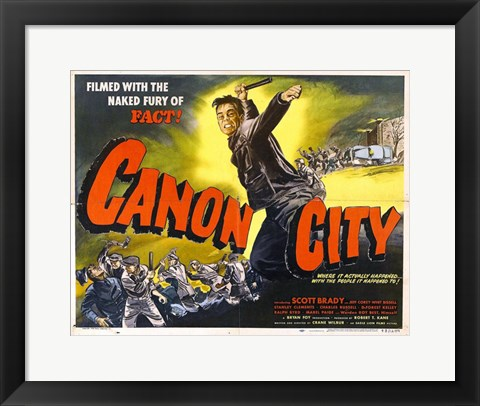 Framed Canon City Print