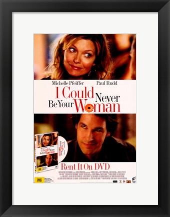 Framed I Could Never Be Your Woman Print