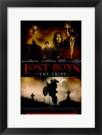 Framed Lost Boys: The Tribe Print
