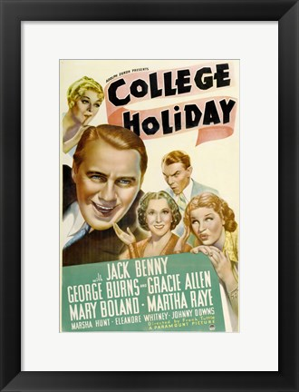 Framed College Holiday Print