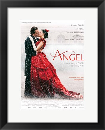Framed Angel Francois Ozon Print