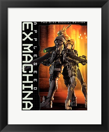 Framed Appleseed Saga: Ex Machina Print